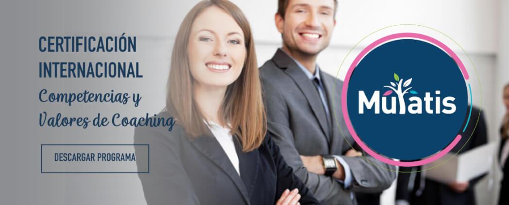 Certificación Internacional - Competencias y Valores de Coaching